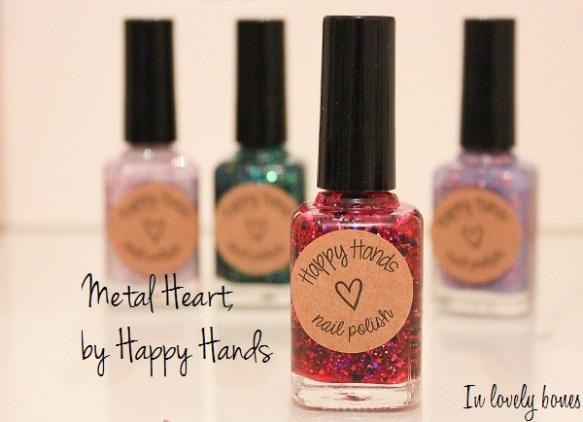 Metal Heart Happy Hands 8