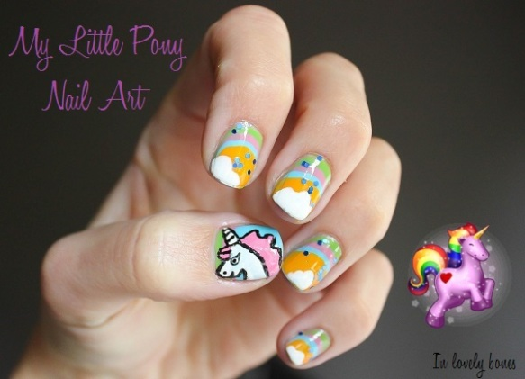 Unicorn Nail art 0