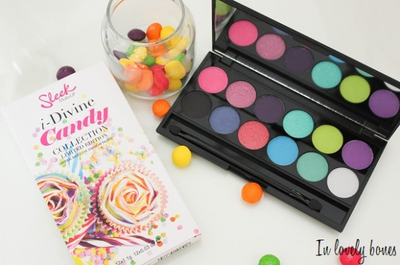 Palette Sleek Candy 4