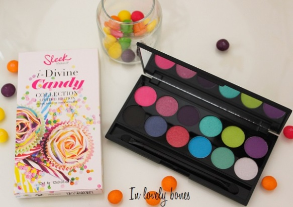 Palette Sleek Candy 8