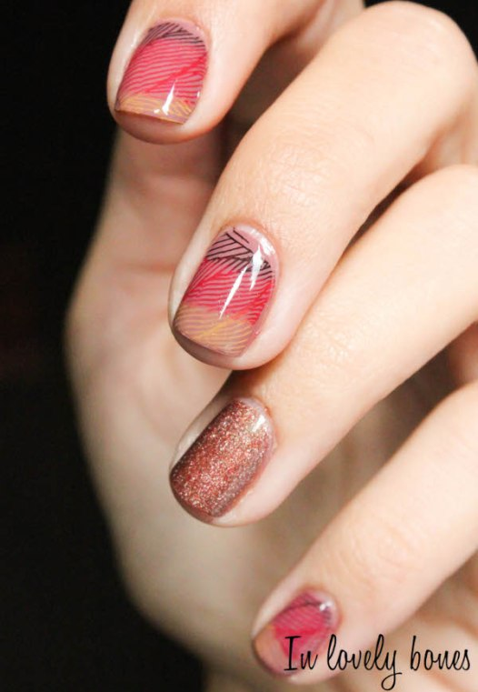 Nail art Automne 3