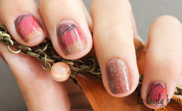 Nail art Automne 4