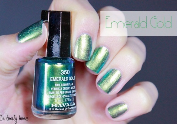 Mavala - Emerald Gold-4