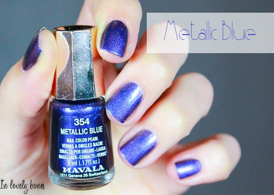 Mavala - Metallic Blue-2