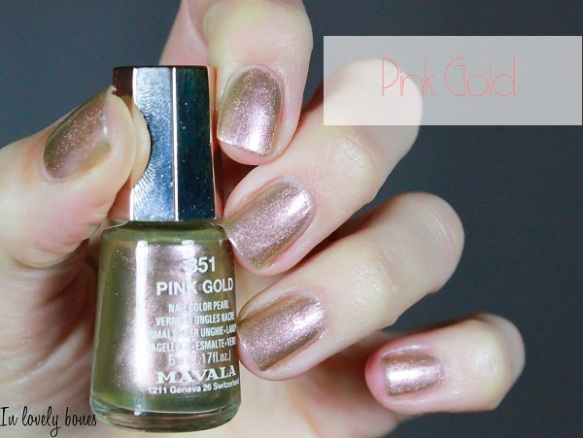 Mavala - Pink Gold