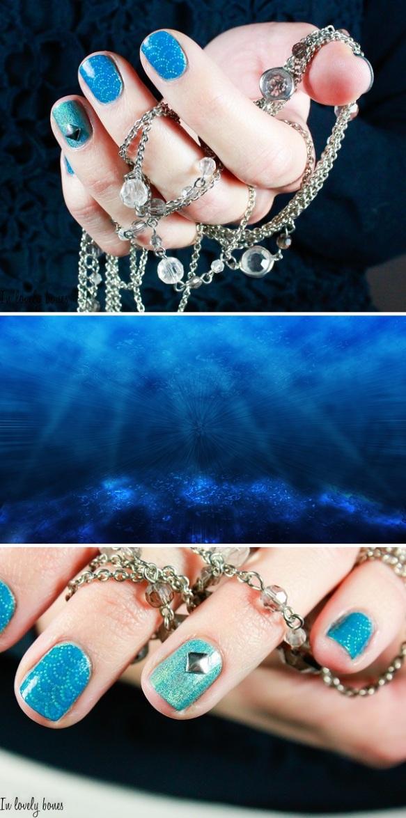 Sous l'océan Nail Art-3