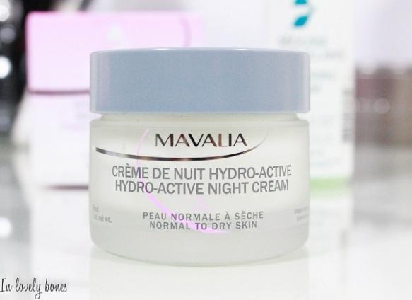 Mavala Crème de nuit hydro-active